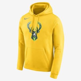 Nike Milwaukee Bucks Men's Logo NBA Hoodie