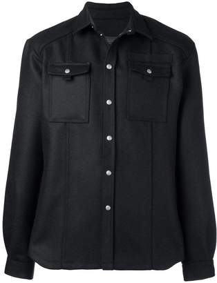 Diesel Black Gold pointed collar jacket