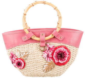 Miu MiuMiu Miu Begonia Basket Bag