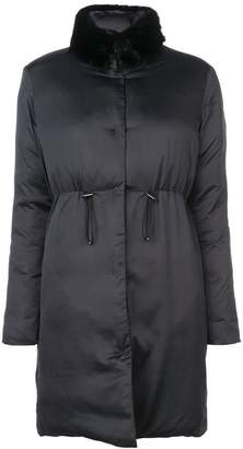 Giambattista Valli detachable collar coat