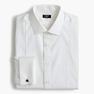 J.Crew Ludlow Slim-fit stretch two-ply piquu0026eacute;-bib tuxedo shirt