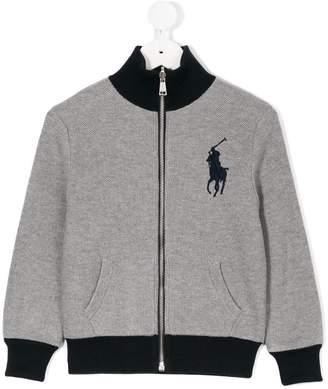 Ralph Lauren Kids reversible zip jacket
