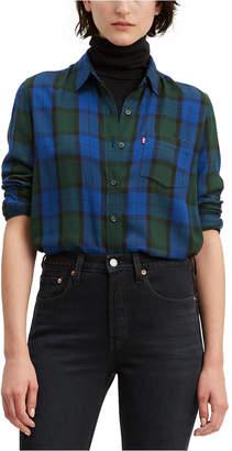 Levi's Ultimate Boyfriend Plaid Shirt