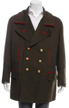 Burberry Double-Breasted Military Jacket