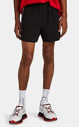 BLACKBARRETT Men's Reflective-Trimmed Running Shorts - Black