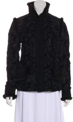 Andrew Gn Mink-Trimmed Evening Jacket