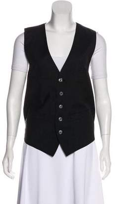DSQUARED2 Wool Button-Up Vest