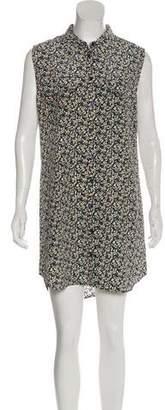 Equipment Sleeveless Slim Signature Dress w/ Tags