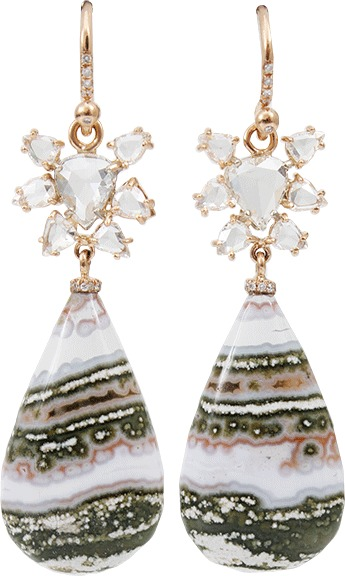 Irene Neuwirth JEWELRY Jasper Drop Earrings