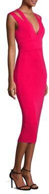 ABS By Allen SchwartzABS Cutout Midi Dress