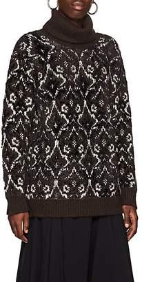 Comme des Garcons Junya Watanabe Women's Fair Isle Wool-Blend Sweater