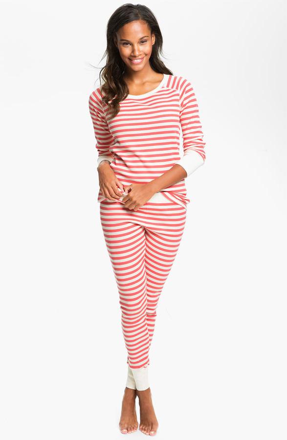 Hue 'Huetopia' Thermal Pajamas