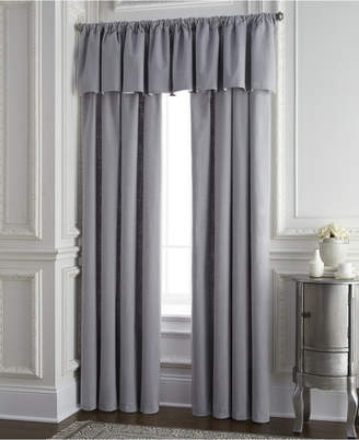 Colcha Linens Cambric Gray Tailored Valance Bedding