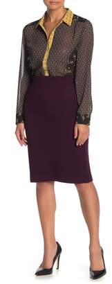 Daniel Rainn DR2 by Textured Knit Midi Skirt