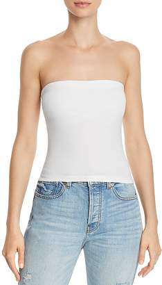 Aqua Ruched Strapless Top - 100% Exclusive