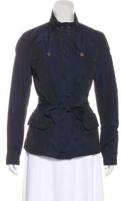 Moncler Lightweight Belted Jacket