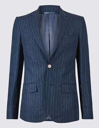 Marks and Spencer Pure Linen Slim Fit Jacket