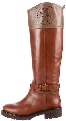 Tory BurchTory Burch Daniela Leather Riding Boots