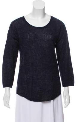 Halston Lightweight Alpaca Sweater
