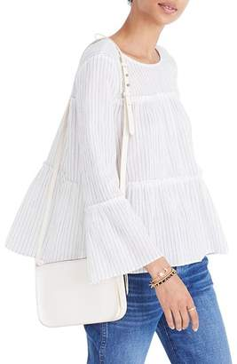 Madewell Stripe Tiered Top