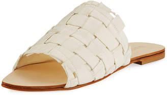Lust For Life Vixen Woven Flat Slide Sandals