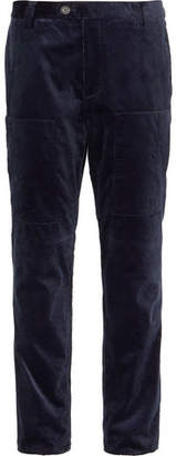 Brunello Cucinelli Cotton-Corduroy Trousers - Navy