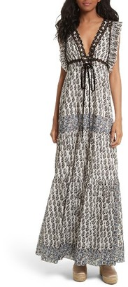Women's Tory Burch Amita Maxi Dress $598 thestylecure.com