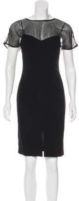 L'Agence Knee-Length Sleeveless Dress w/ Tags