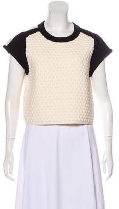 Rag & Bone Scoop Neck Short Sleeve Sweater w/ Tags