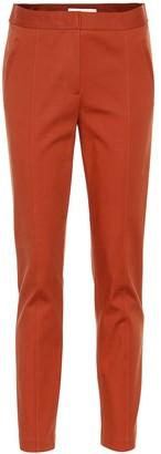 Tory Burch Vanner stretch-cotton pants