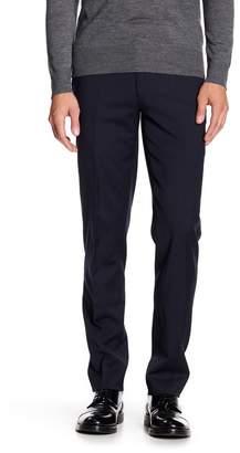"Louis Raphael Solid Stretch Dress Slim Fit Pants - 30-34\"" Inseam"