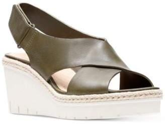Clarks Artisan Women's Palm Glow Wedge Sandals