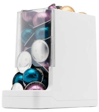 Nespresso WePlenish Java, The First Amazon Dash Replenishment Enabled Smart Container | K-Cup Holder, Single Serve Coffee Pod Holder, Nespresso, Kind Bar, RXBAR Storage with Automatic Reordering | White