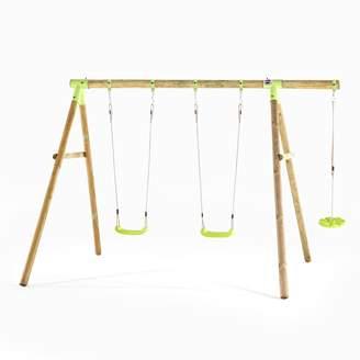 Plum Loris Wooden Swing Set