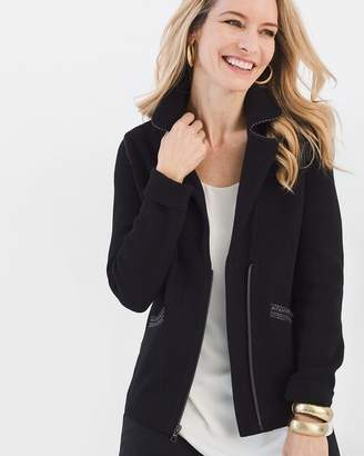 Chico's Chicos Double-Knit Cardigan