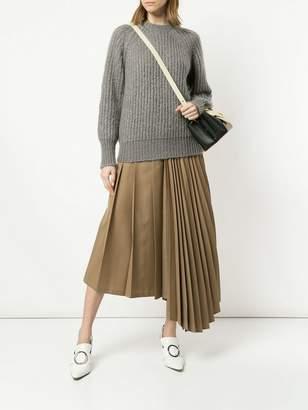 Le Ciel Bleu cable knit jumper
