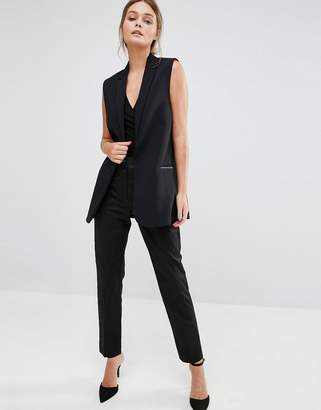 Oasis Tailored Cigarette Pant $58 thestylecure.com