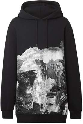 Burberry dreamscape print hoodie