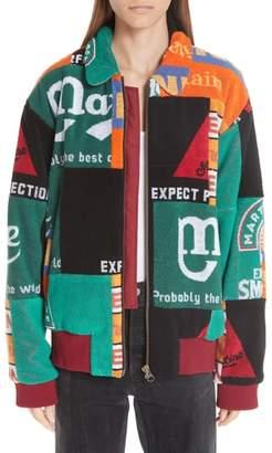 Martine Rose Beer Mat Bomber Jacket