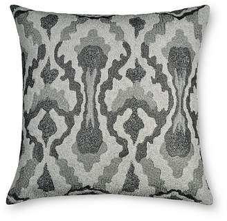 "Donna Karan Exhale Embroidered Decorative Pillow, 18"" x 18"""