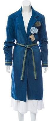 BRIGITTE Alessandra Chamonix Denim Coat w/ Tags