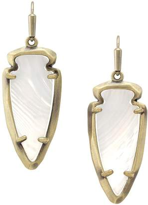 Kendra Scott Arrowhead Earrings
