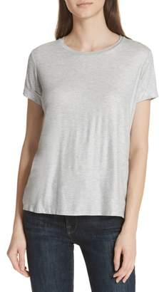 Majestic Filatures Metallic Short Sleeve Swing Tee