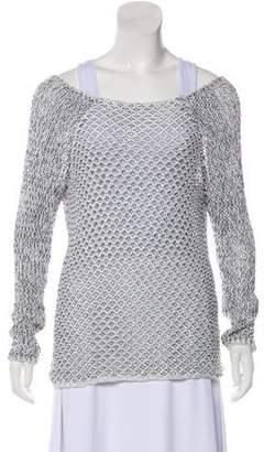 Helmut Lang Pearlescent Lightweight Sweater