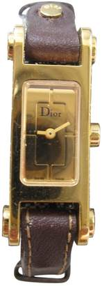 Christian Dior Gold Gold plated Watches