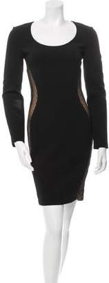 Emilio Pucci Scoop Neck Mesh Inset Dress w/ Tags