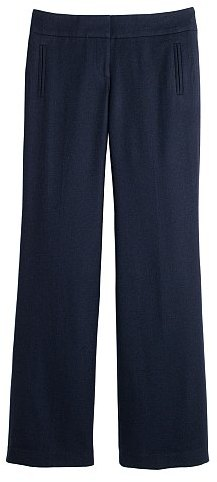 Favorite-fit wool twill academy pant