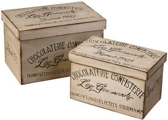 Uttermost Chocolaterie 2-pc. Box Set