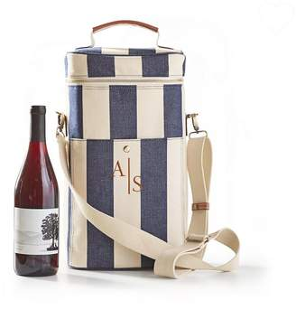 Mark And Graham Calistoga Insulated Wine Tote, Embroidered