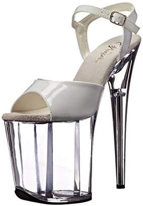 Pleaser USA Women's Flam809/w/c Platform Sandal